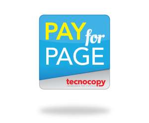 pay for page costo per pagina tecnocopy srl