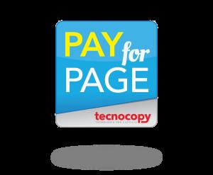 pay for page costo per pagina tecnocopy srl